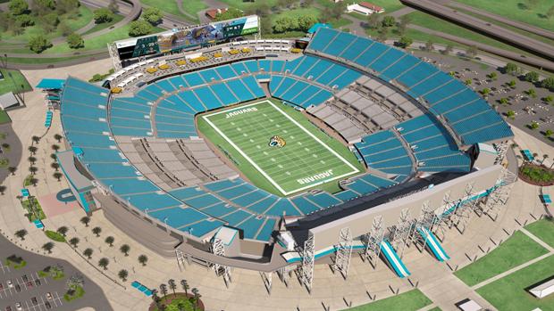 Jacksonville jaguars virtual venue by iomedia - Jacksonville jaguars swimming pool ...